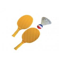 set SHUTTLEBALL (raqueta + supervolante) softee