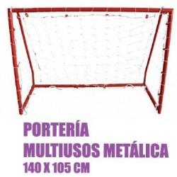 Porteria multiusos metalica 140x105 softee