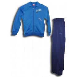 chandal PUMA BACK2 SCHOOL niño deporte azul