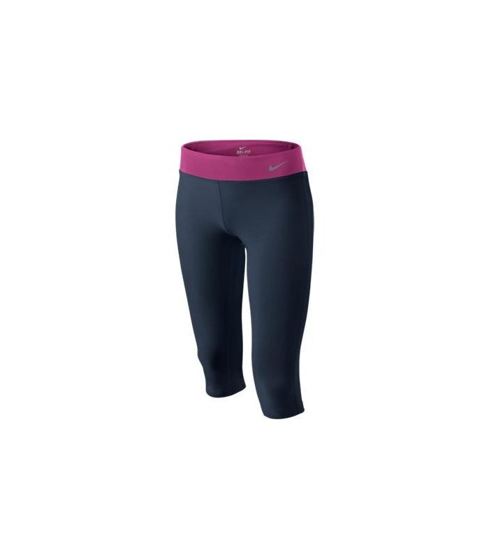 Nike Malla Pirata Lycra Gimnasio Dri Fit Pantalon Fitness Deporte Chica Mujer