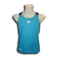 camiseta deporte tirantes transpirable John Smith paredes azul
