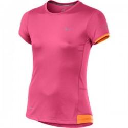Nike camiseta deporte Chica ROSA TRANSPIRABLE dri fit