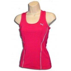 Puma camiseta tirantes deporte Chica ROSA TRANSPIRABLE