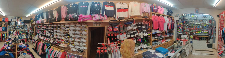 Deportes Mazarracin interior de la tienda