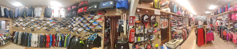 Deportes Mazarracin interior de la tienda otro punto