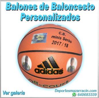 Balones de baloncesto personalizados