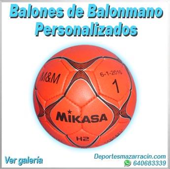 Balones de Balonmano personalizados
