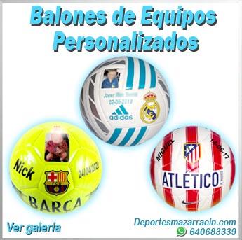 Balones de equipos personalizados