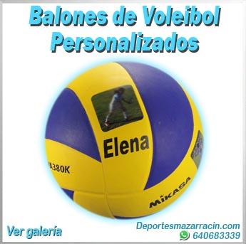 Balones de voleibol personalizados