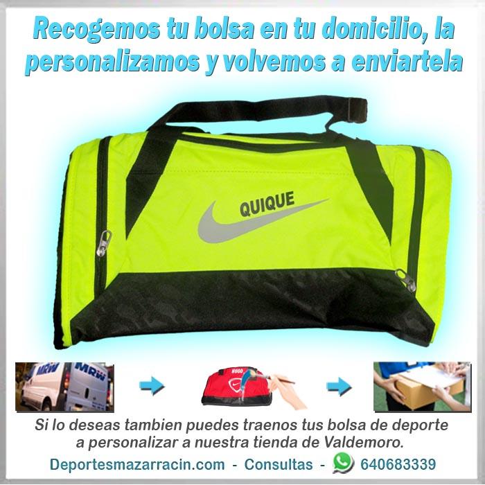 personalización de bolsas de deporte