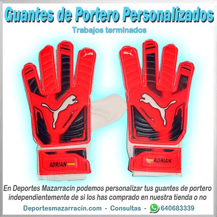 Guantes de portero personalizados Puma