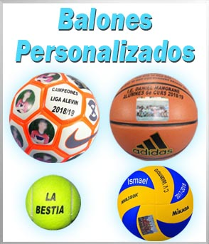 Balones de futbol personalizados