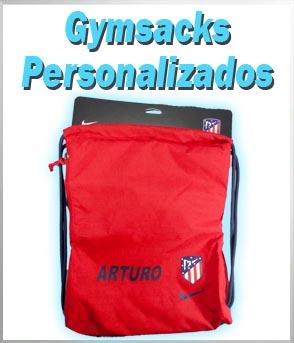 bolsa saco gymsack personalizados