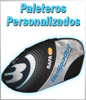 paleteros padel personalizados