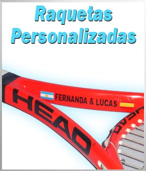 Raquetas de tenis personalizadas