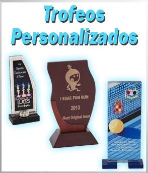 Trofeos personalizados