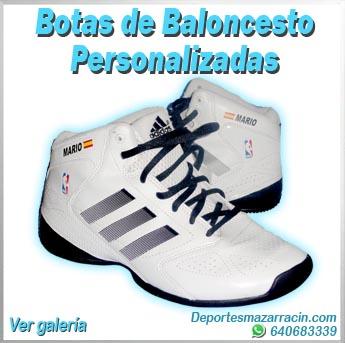 Botas de Baloncesto personalizadas galería de imágenes