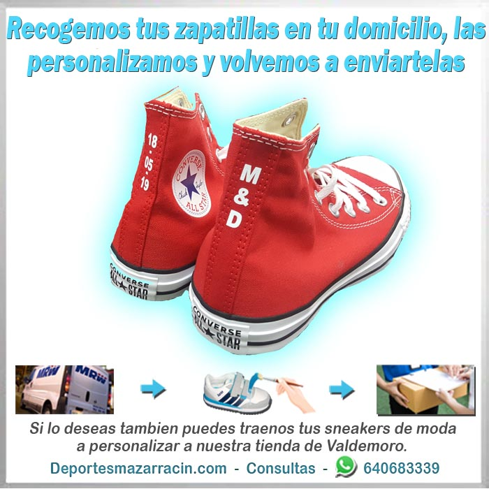 personalización de zapatillas de moda calle