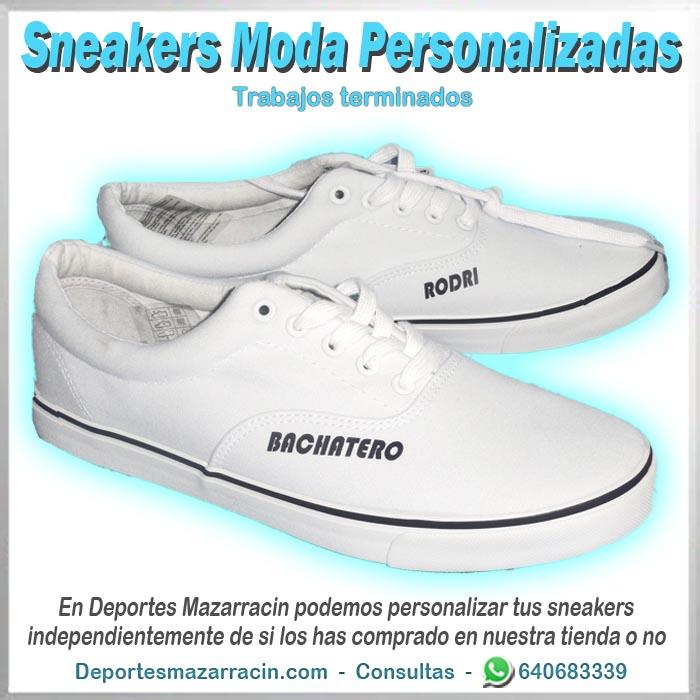 zapatilla de moda calle personalizada