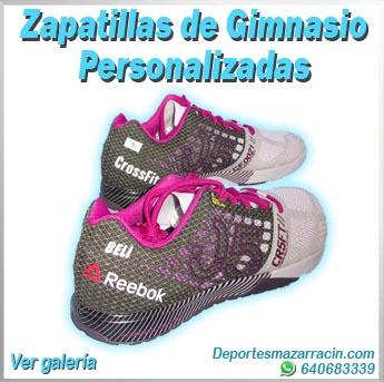 zapatillas de gimnasio personalizadas galería de imágenes