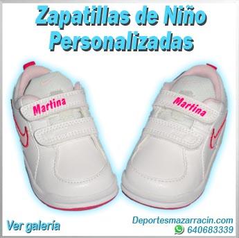 zapatillas de niño y niña personalizadas galería de imágenes