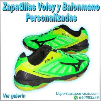 zapatillas de voleibol y balonmano personalizadas galería de imágenes