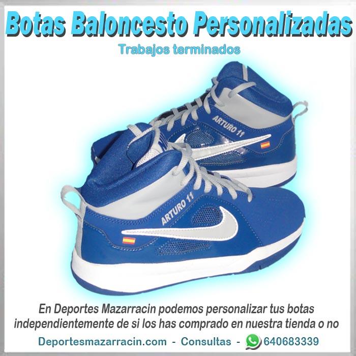 Bota Baloncesto personalizada
