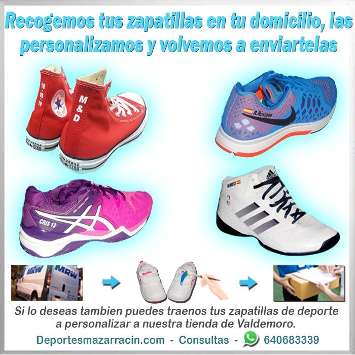 personalización de zapatillas de deporte