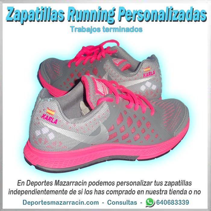 zapatilla Running personalizada nike