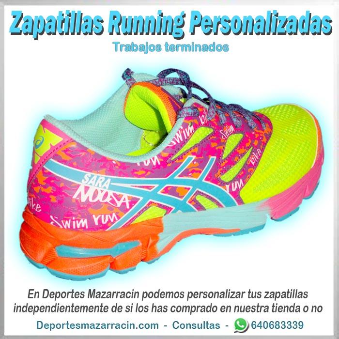 zapatilla Running personalizada asics