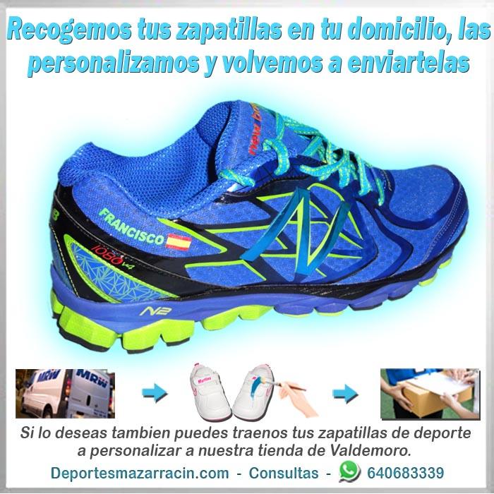 personalización de zapatillas de running