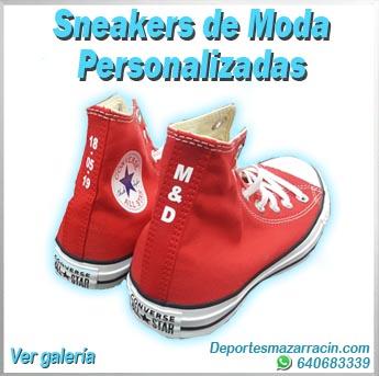 Sneakers de moda personalizadas galería de imágenes