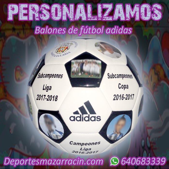 Personalización balones de futbol adidas