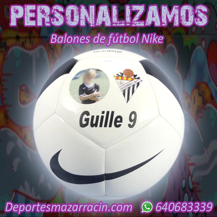 Personalización balones de futbol Nike