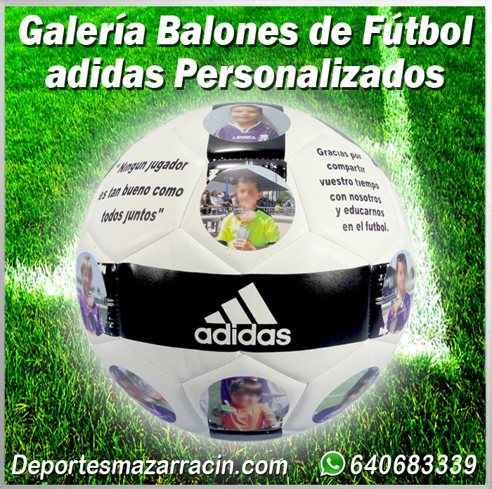 Galería de balones de futbol adidas Personalizados