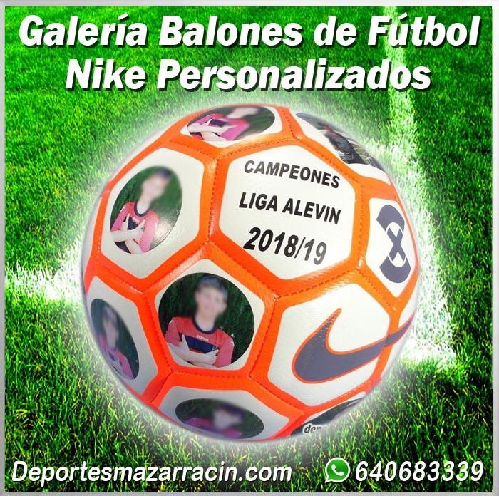 Galería de balones de futbol Nike Personalizados