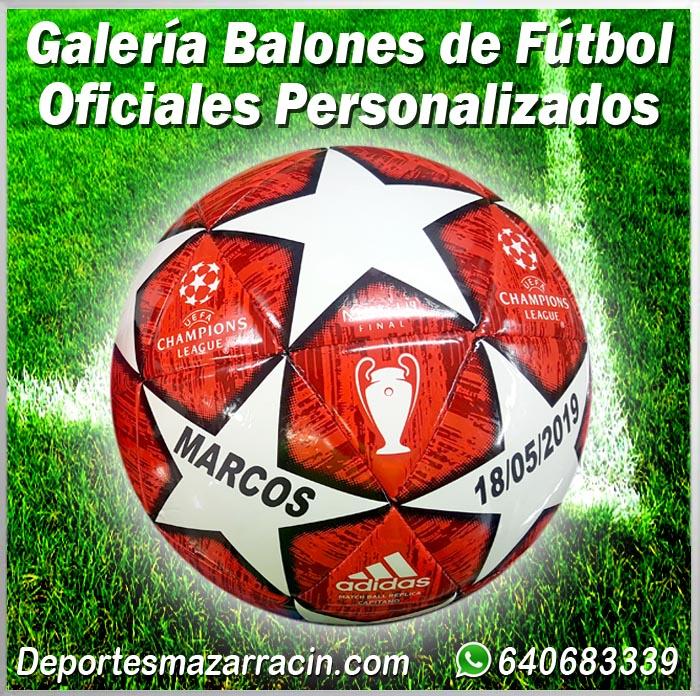 Galería de balones de futbol Personalizados