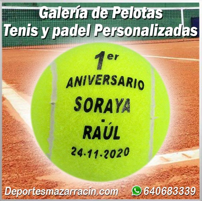 Pelotas de Tenis Personalizadas