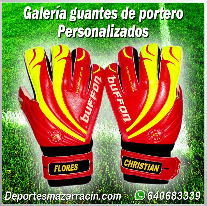 Galería de guantes de portero Personalizados