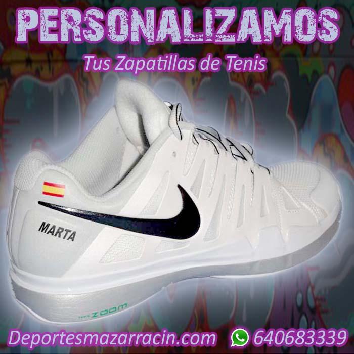 Personalización de zapatillas de Tenis