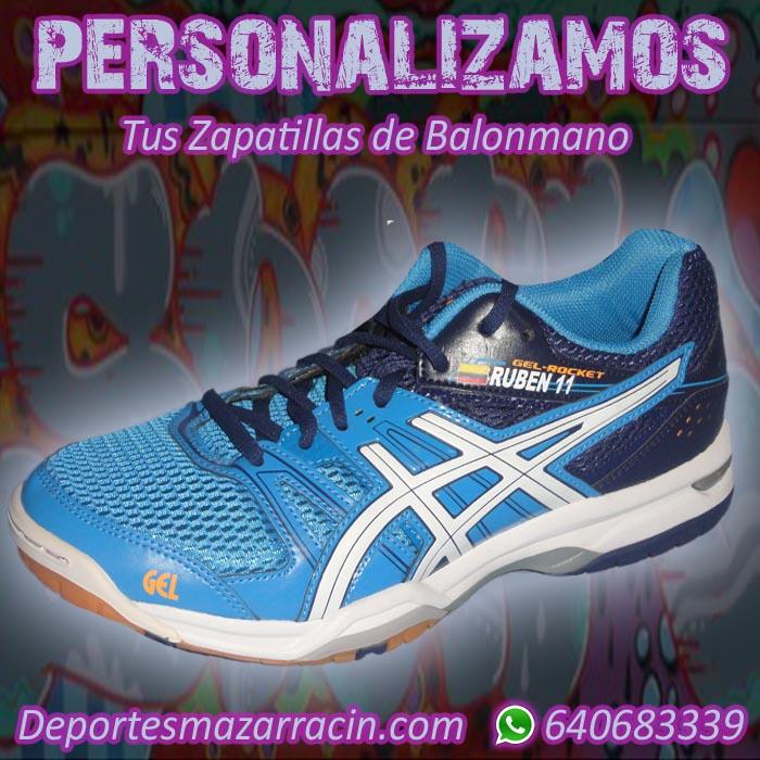 Personalización de zapatillas de Balonmano