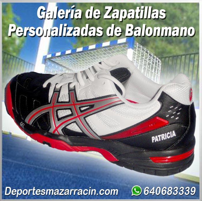 Galería de zapatillas Balonmano Personalizadas