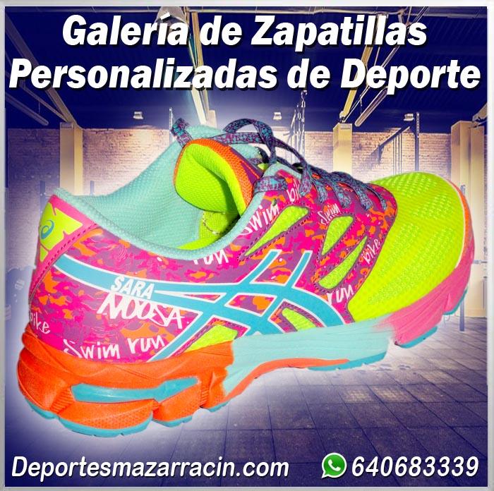 Galería de zapatillas de Deporte Personalizadas