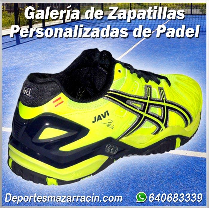 Galería de zapatillas Padel Personalizadas