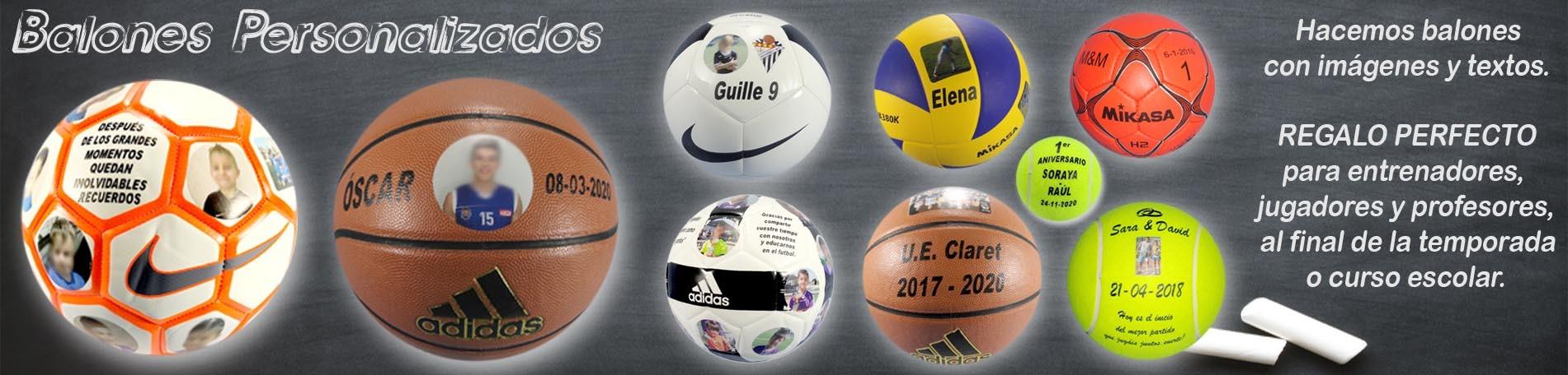 Balones Personalizados en Deportes Mazarracin Valdemoro