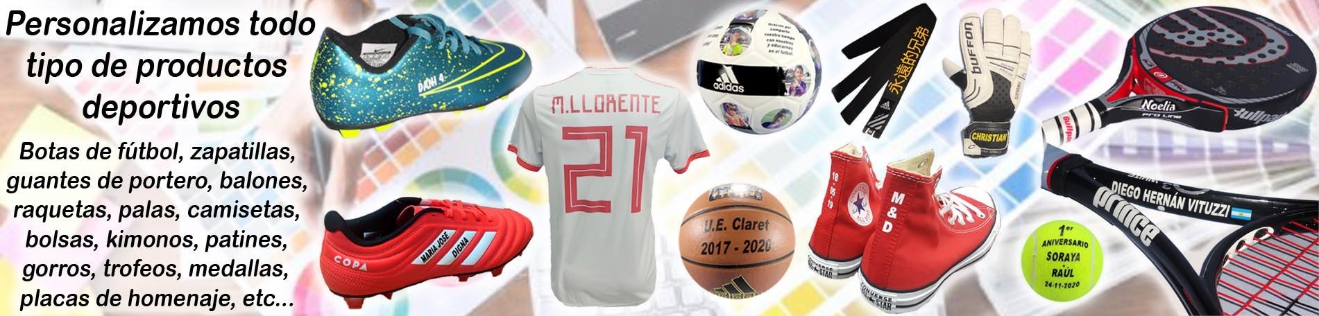 Personalizados productos deportivos en Deportes Mazarracin Valdemoro